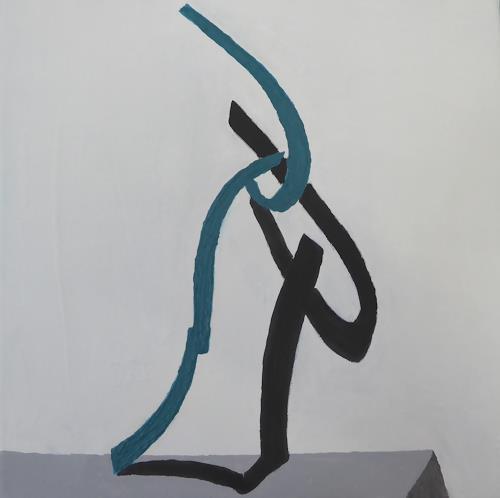 Gerhard Knolmayer, Schatten unter Roberto Almagnos Biegungen, Architecture, Decorative Art, Modern Age