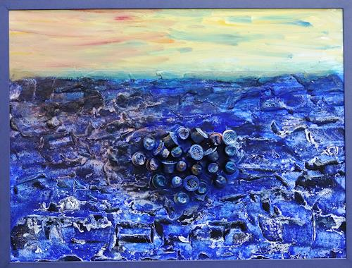 Gerhard Knolmayer, Great Pacific Garbage Patch, Landscapes: Sea/Ocean, Society, Expressive Realism
