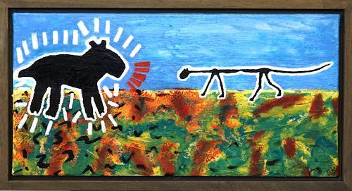 Gerhard Knolmayer, Hund und Katz, Animals: Land, Contemporary Art