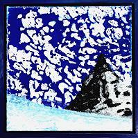 G. Knolmayer, Expressive Himmelserscheinung über dem Matterhorn