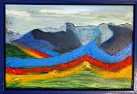 Gerhard-Knolmayer-1-Landscapes-Mountains-Fantasy-Modern-Age-Expressive-Realism
