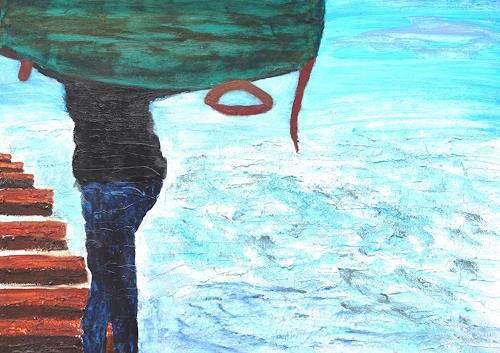 Gerhard Knolmayer, Coca-Cola schafft Arbeitsplätze, Landscapes: Tropics, Society, Expressive Realism, Expressionism