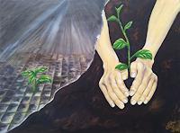 Gabriele-Scholl-Miscellaneous-Plants-Miscellaneous-Modern-Age-Concrete-Art