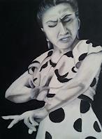 Gabriele-Scholl-People-Women-Movement-Modern-Age-Others-New-Figurative-Art