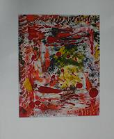 Gabriele-Scholl-Abstract-art-Decorative-Art-Modern-Age-Abstract-Art-Action-Painting