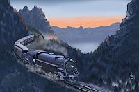 Kay-Romantic-motifs-Sunrise-Landscapes-Mountains-Contemporary-Art-Contemporary-Art