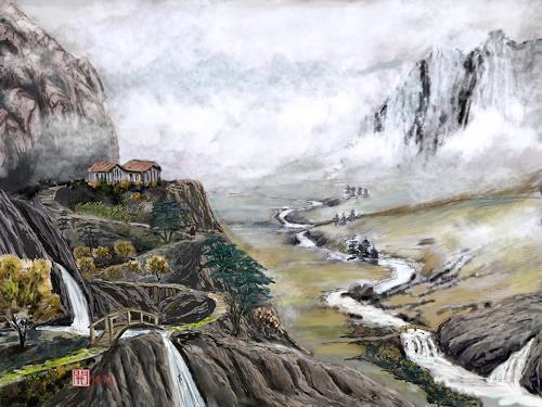 Kay, Once upon a time, Landscapes: Mountains, Landscapes: Plains, Constructivism, Expressionism