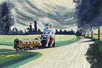Kay-Miscellaneous-People-Traffic-Railway-Contemporary-Art-Contemporary-Art