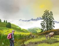 Kay-Landscapes-Mountains-Miscellaneous-People-Contemporary-Art-Contemporary-Art