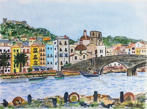 Godi Tresch, Bosa Sardinien, Interiors, Interiors: Cities