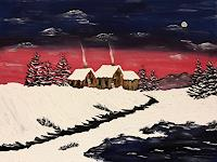 Godi-Tresch-Landscapes-Winter-Nature-Miscellaneous-Modern-Age-Abstract-Art