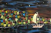 Godi-Tresch-Landscapes-Sea-Ocean-Nature-Water-Modern-Age-Abstract-Art