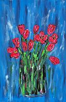 Godi-Tresch-Plants-Flowers-Nature-Miscellaneous-Modern-Age-Abstract-Art