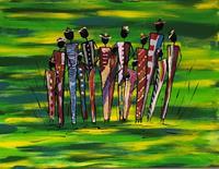 Godi-Tresch-People-Group-Emotions-Love-Modern-Age-Abstract-Art