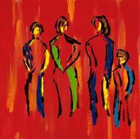 Godi-Tresch-People-Group-Emotions-Modern-Age-Abstract-Art
