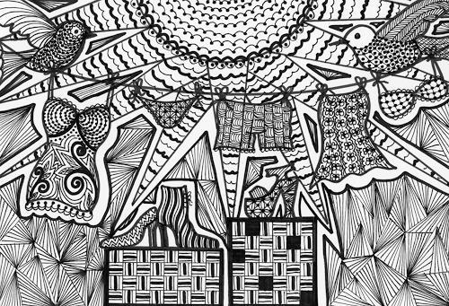 SuzAna Senn-Benes, Waschtag..., Miscellaneous, Interiors, Modern Age