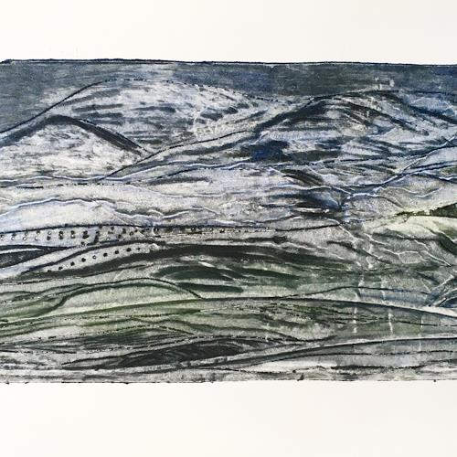 Sabine Müller, Landschaft, Landscapes, Abstract Art, Abstract Expressionism