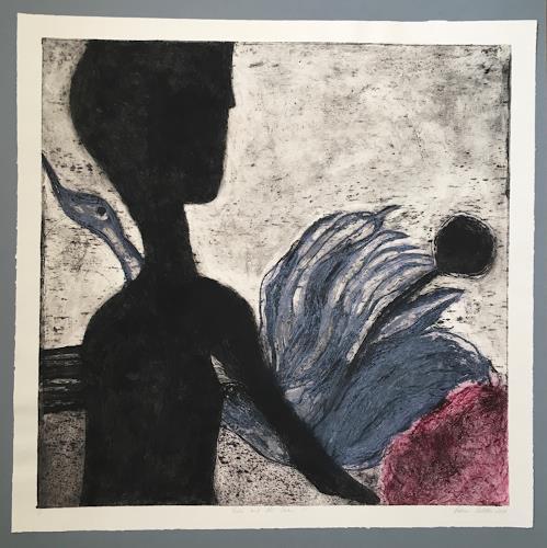 Sabine Müller, Leda and the Swan, Mythology, Mythology, Modern Age