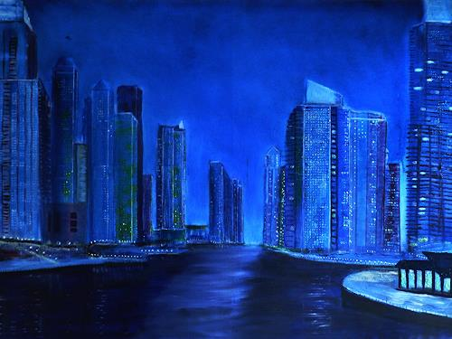 Gerhard Winkler, Dubai Skyline, Landscapes, Landscapes