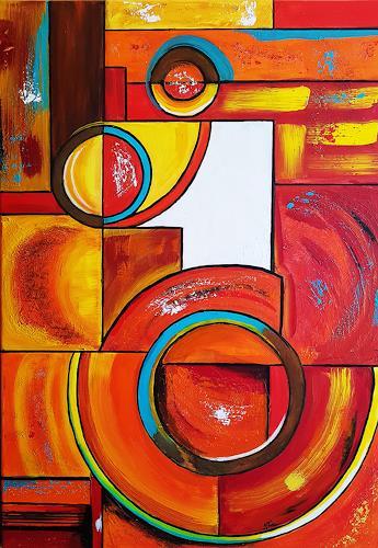 Gerhard Winkler, hidden one, Abstract art, Abstract art, Abstract Art