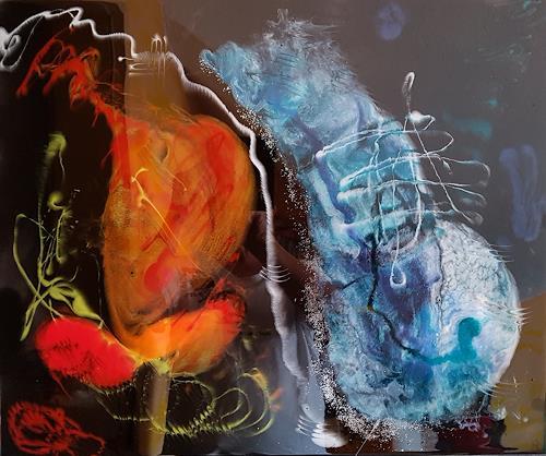 Gerhard Winkler, Zukunft, Abstract art, Abstract art, Abstract Art, Abstract Expressionism