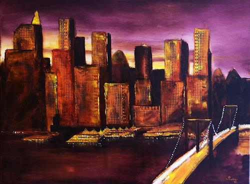 Gerhard Winkler, New York, Interiors: Cities, Landscapes, Abstract Art