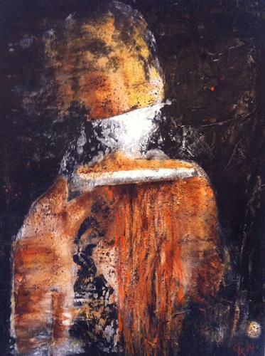 Christiane Mohr, Der Mann mit dem goldenen Helm, Miscellaneous, Abstract Expressionism
