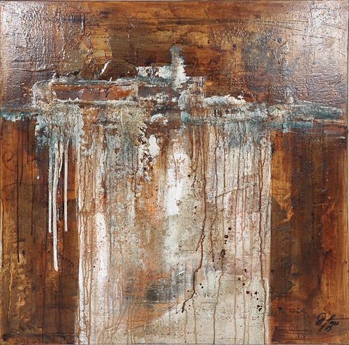 Christiane Mohr, Moorlandschaft, Abstract art, Contemporary Art