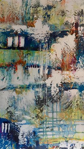 Christiane Mohr, Sommer 1, Abstract art, Abstract Art