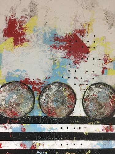 Christiane Mohr, Start und Ziel 2, Abstract art, Miscellaneous, Abstract Art