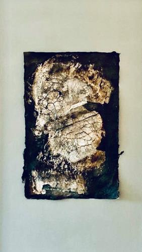 Christiane Mohr, Versteinerung, Landscapes, Nature, Abstract Art