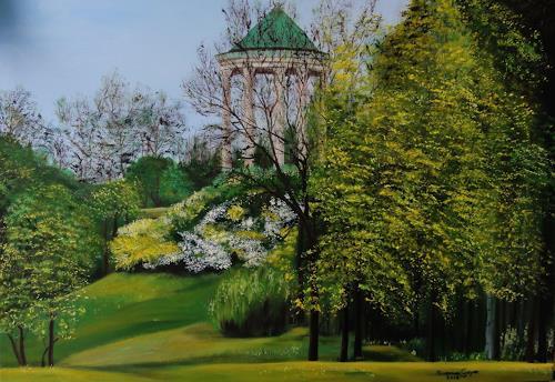 Susanne Geyer, Monoptorus, Landscapes: Spring, Contemporary Art