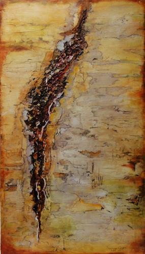 Susanne Geyer, Verletzung, Abstract art