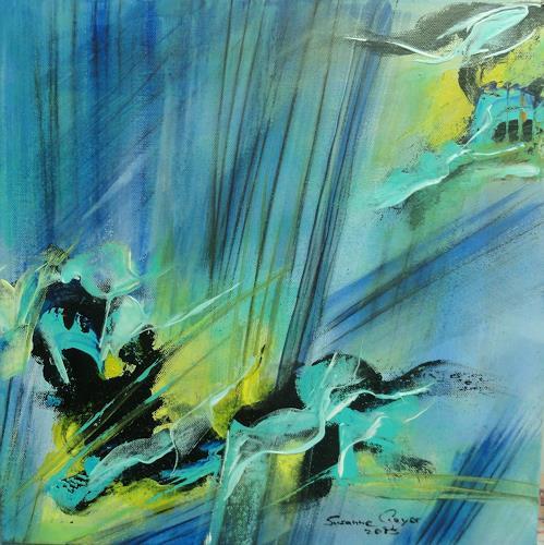 Susanne Geyer, Aus der Tiefe heraus, Abstract art, Abstract Art