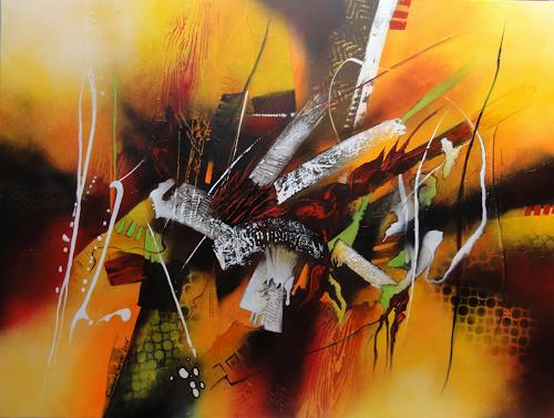 Susanne Geyer, ohne Titel, Abstract art, Fantasy, Action Painting, Abstract Expressionism