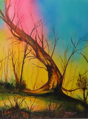 Susanne Geyer, Toter Baum, Landscapes, Contemporary Art