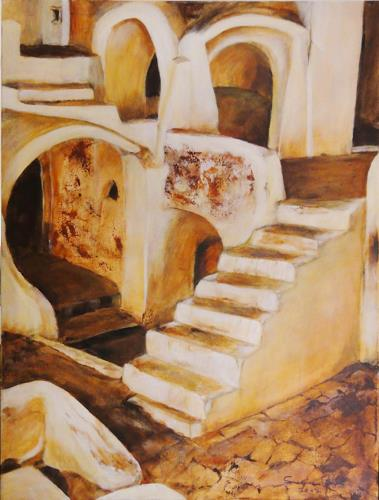 Susanne Geyer, Ksar Hadada, Abstract art, Miscellaneous Landscapes, Contemporary Art
