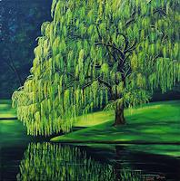 Susanne-Geyer-Landscapes-Summer-Plants-Trees-Contemporary-Art-Contemporary-Art