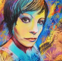Susanne-Geyer-People-Women-People-Faces-Contemporary-Art-Contemporary-Art