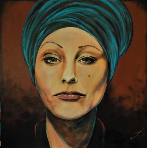 Susanne Geyer, Verena 2, People: Women, People: Portraits, Contemporary Art