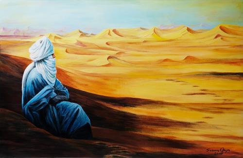 Susanne Geyer, Tuareg, People: Men, Miscellaneous Landscapes, Contemporary Art