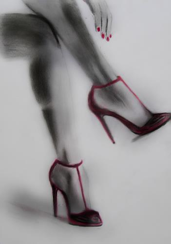 Leon4, High Heels 3, Nude/Erotic motifs, Naturalism