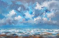 wim-van-de-wege-Landscapes-Sea-Ocean-Landscapes-Beaches-Modern-Age-Impressionism