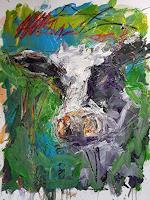 wim-van-de-wege-Animals-Land-Abstract-art-Modern-Age-Abstract-Art