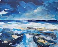 wim-van-de-wege-Landscapes-Sea-Ocean-Miscellaneous-Landscapes-Modern-Age-Impressionism-Post-Impressionism
