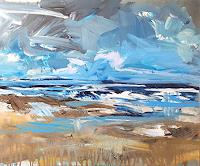 wim-van-de-wege-Landscapes-Sea-Ocean-Nature-Water-Modern-Age-Impressionism-Post-Impressionism