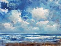 wim-van-de-wege-Landscapes-Sea-Ocean-Landscapes-Beaches-Modern-Age-Impressionism-Neo-Impressionism