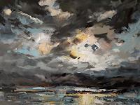wim-van-de-wege-Landscapes-Sea-Ocean-Landscapes-Mountains-Modern-Age-Impressionism