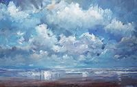 wim-van-de-wege-Landscapes-Beaches-Landscapes-Sea-Ocean-Modern-Age-Impressionism