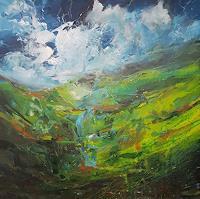 wim-van-de-wege-Landscapes-Mountains-Landscapes-Modern-Age-Expressionism